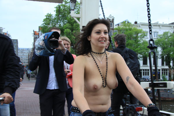 amsterdam world naked bike ride 2012 photo jan blankestein 2012